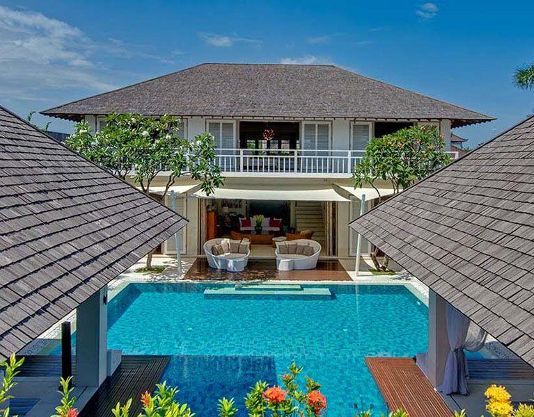Floorplan Villa Jajaliluna Seminyak 4 Bedroom Luxury Villa Bali